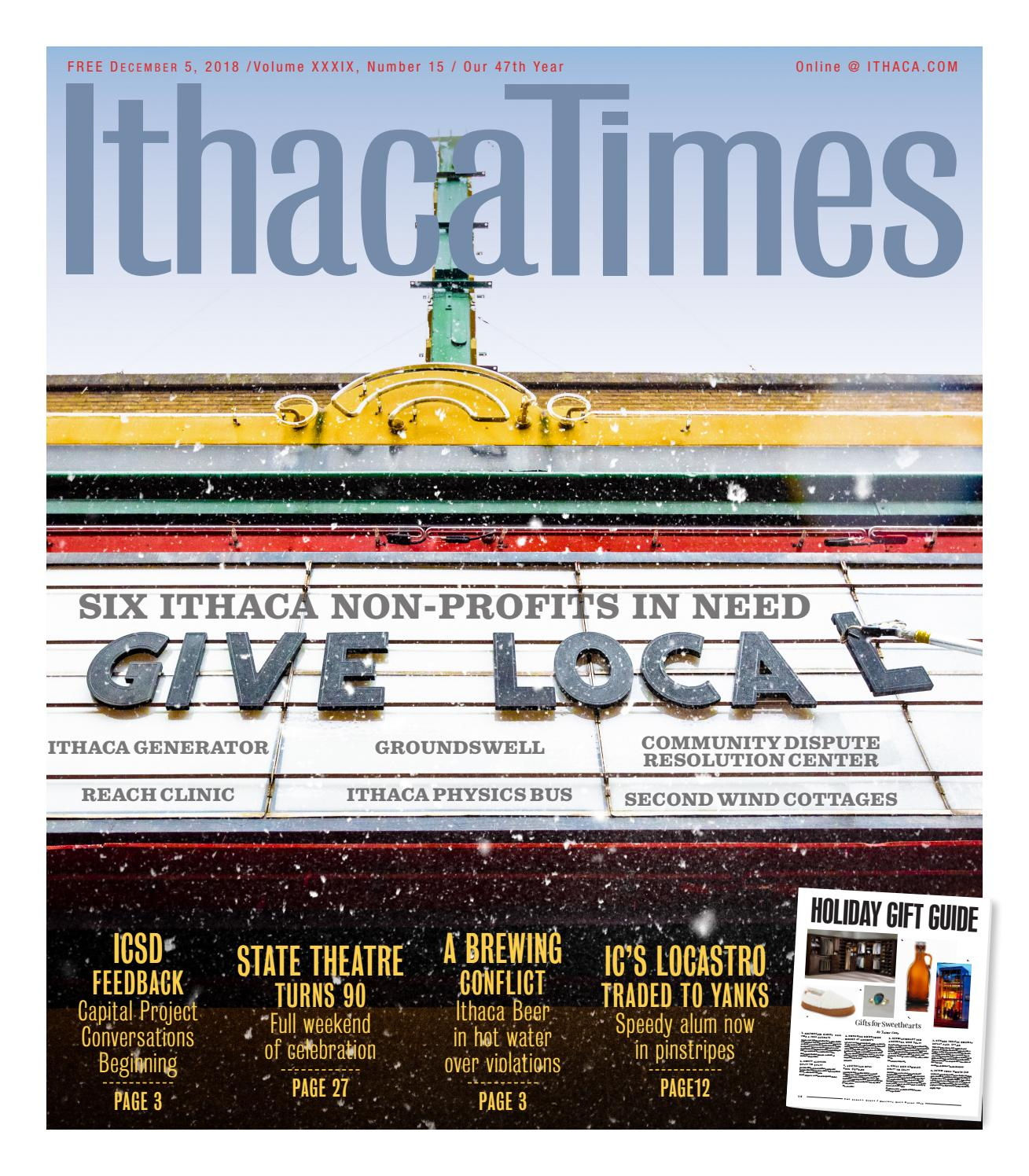 15f541c44 December 5, 2018 by Ithaca Times - issuu