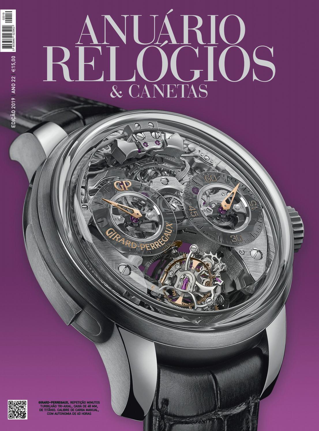 3a812868f74 Anuário Relógios   Canetas - 2019 (versão digital da revista em papel) by  Anuário Relógios   Canetas - issuu