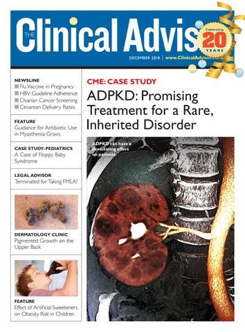 December 2018 Clinical Advisor by The Clinical Advisor - issuu
