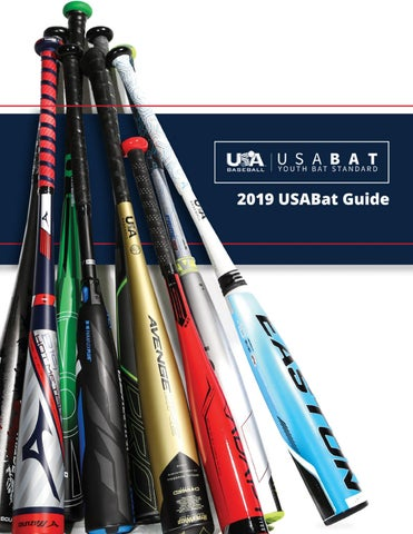 2019 USABat Guide by USA Baseball - issuu