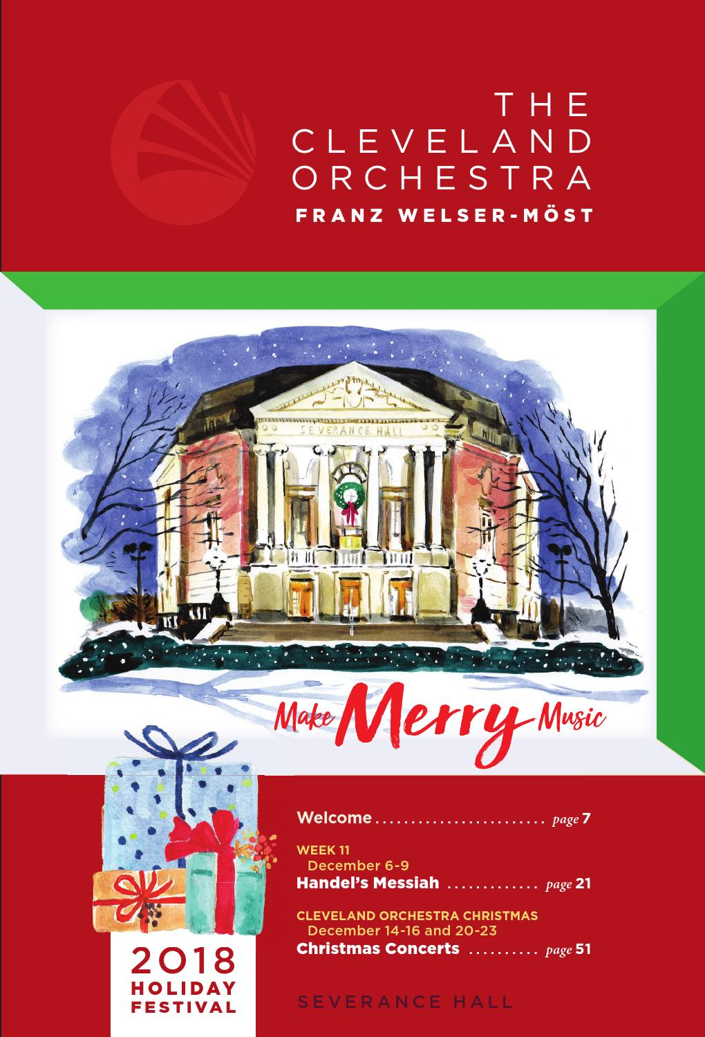 The Cleveland Orchestra Holiday Festival By Live Publishing Issuu