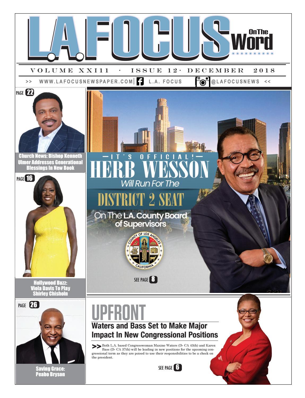 La Focus Newspaper On The Word December 2018 By Bepr 900am 4 Way Dc Circuit Breaker Panel Issuu