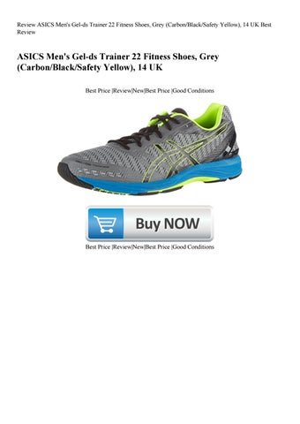 outlet store b049e 44fcb Review ASICS Men's Gel-ds Trainer 22 Fitness Shoes Grey ...