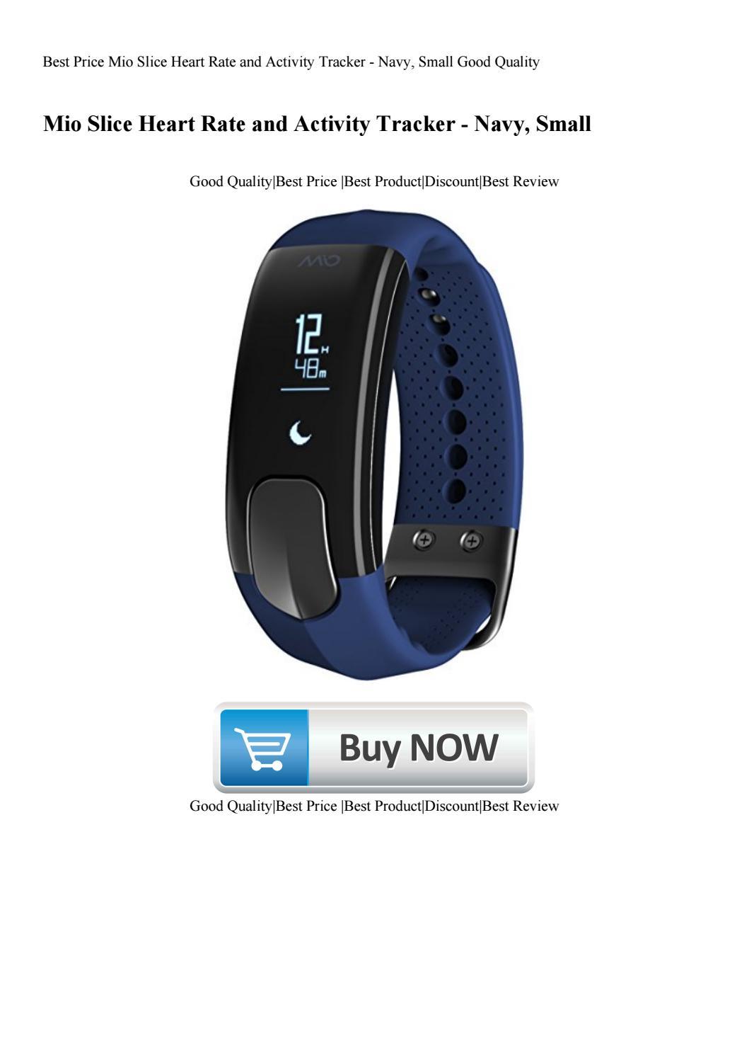 Mio Slice Heart Rate Activity Tracker