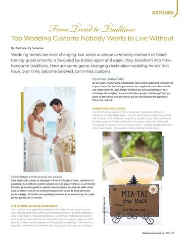 Page 7 of Les tendances de mariages à destination dont on ne se lasse pas