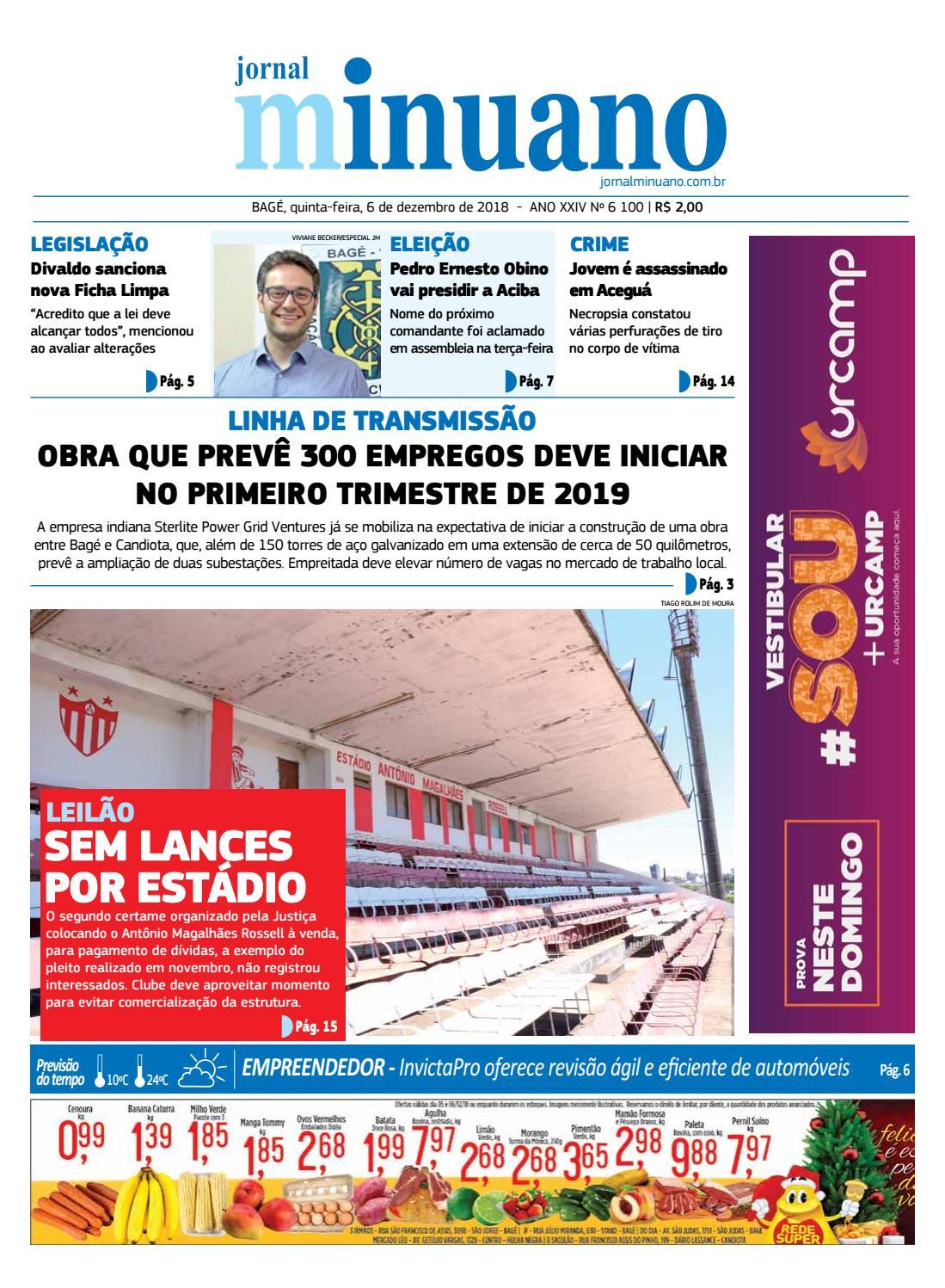 5e60d6a4728 20181206 by Jornal Minuano - issuu