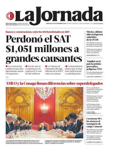 La Jornada 12 05 2018 By La Jornada Issuu