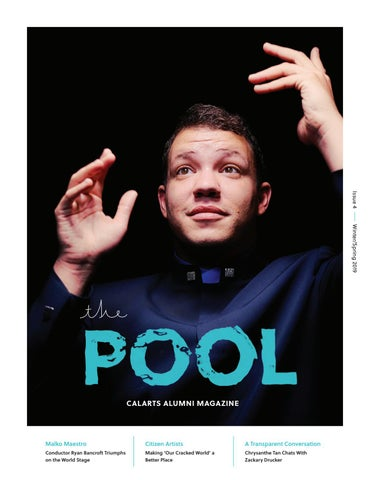 The Pool Issue 4 By California Institute Of The Arts Issuu