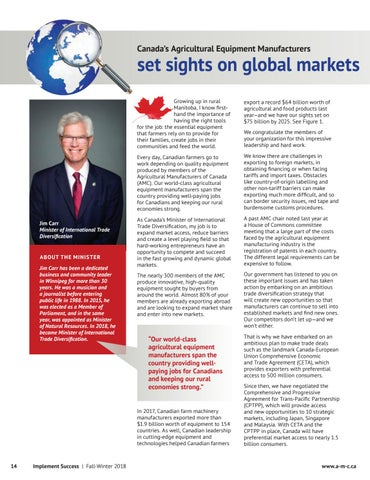 Page 14 of Set sights on global markets
