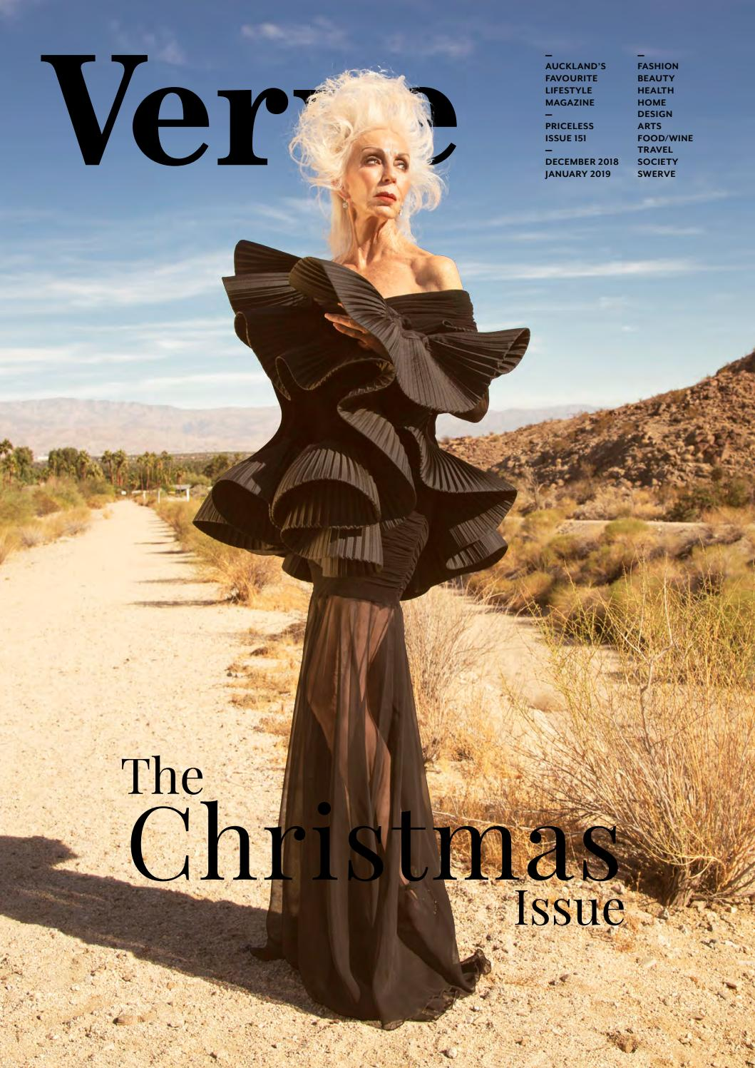 Verve. December 2018. Issue 151. by Verve Magazine - issuu 9e9abc1f31c73