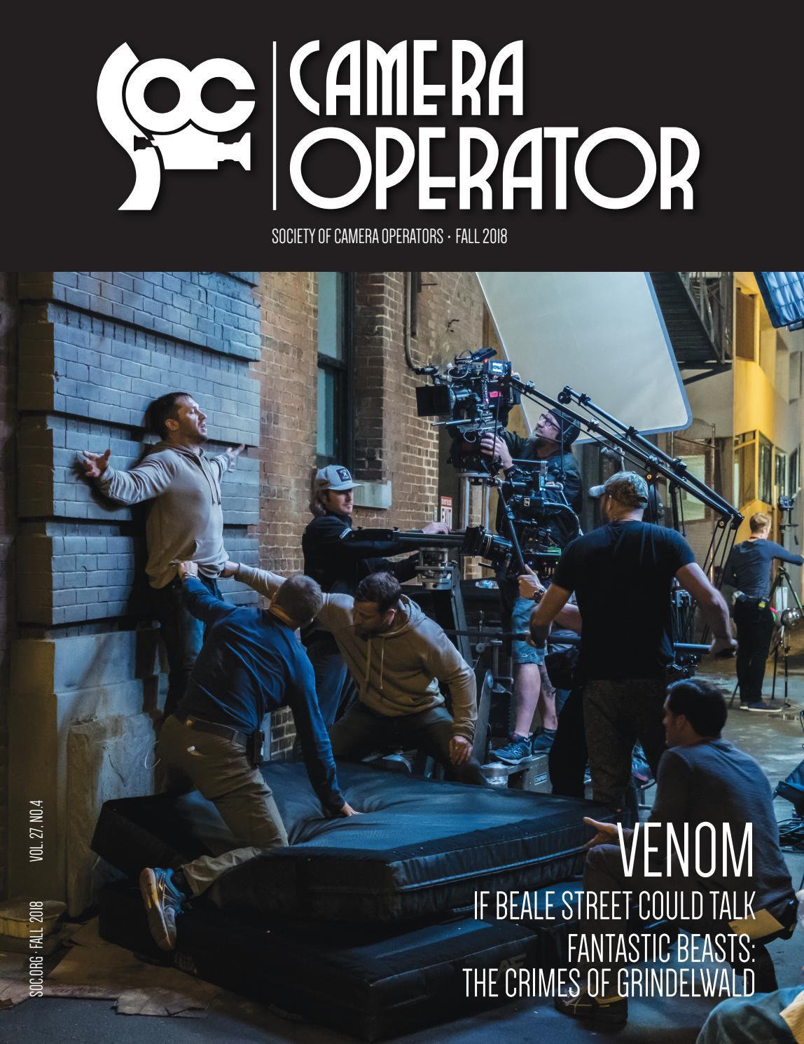 Camera Operator: Fall 2018 by Society of Camera Operators