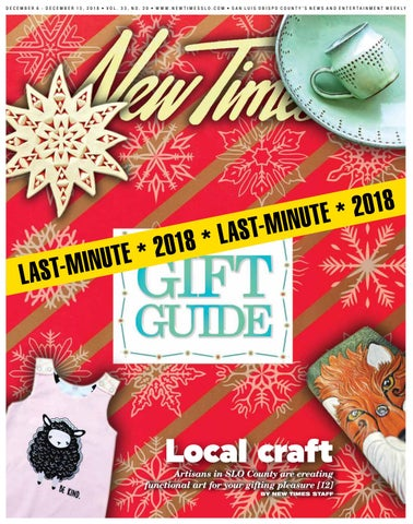 promo code 332ac a6c3a New Times, Dec. 6, 2018 by New Times, San Luis Obispo - issuu