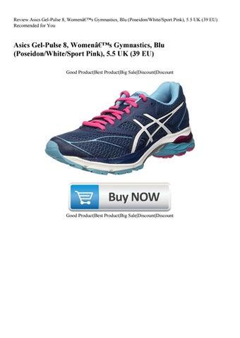 purchase cheap 33a4c 4cb99 Review Asics Gel-Pulse 8 Women's Gymnastics Blu (PoseidonWhiteSport Pink)  5.5 UK (39 EU) Recome