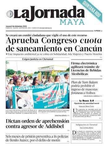 cb2245f802a La Jornada Maya · jueves 6 de noviembre de 2018 by La Jornada Maya ...