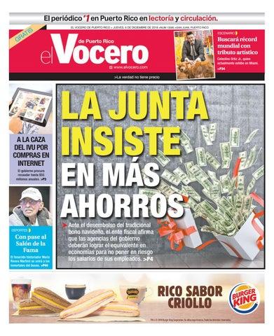 Edición del 6 de diciembre de 2018 by El Vocero de Puerto Rico - issuu e2b326a1aaf9b