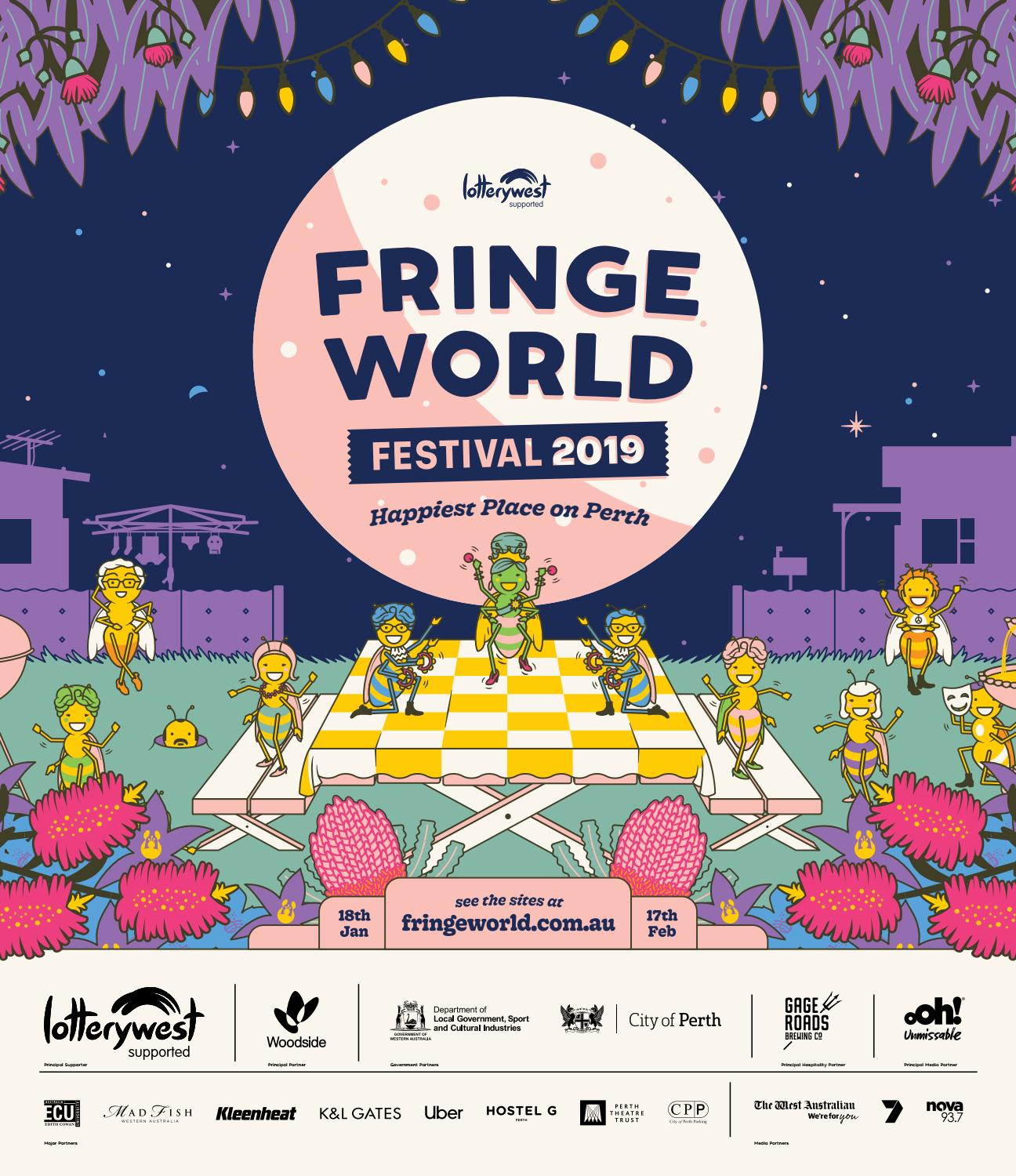 FRINGE WORLD 2019 Festival Guide by Fringe World Festival