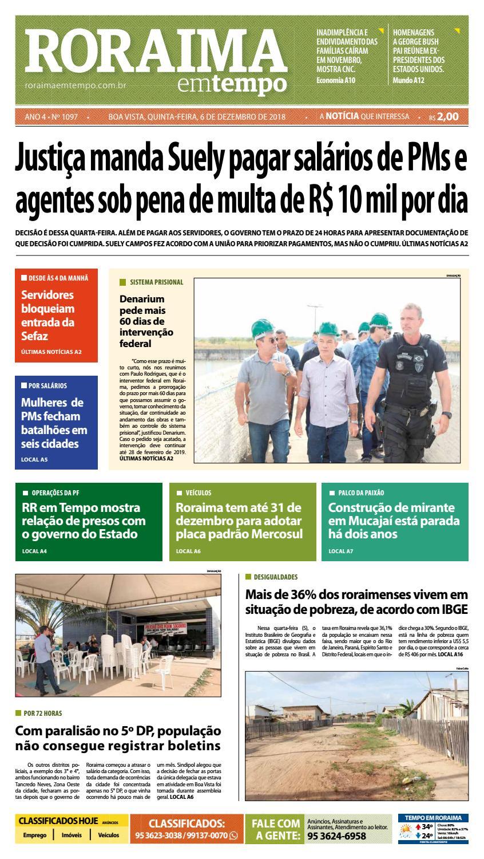 Jornal Roraima em tempo – edição 1097 by RoraimaEmTempo - issuu 416b9b7bf40b0