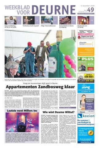 Weekblad Voor Deurne 06 12 2018 By Das Publishers Issuu