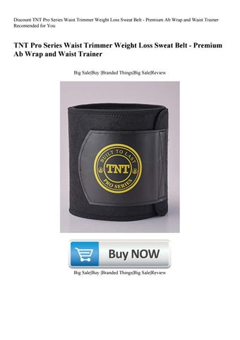 ae04585c2e Discount TNT Pro Series Waist Trimmer Weight Loss Sweat Belt - Premium Ab  Wrap and Waist Trainer Recomended for You