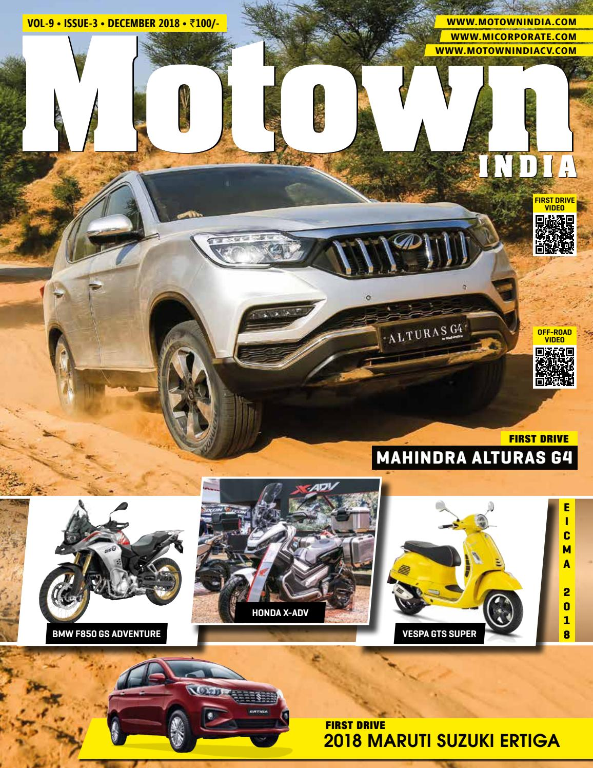 Motown India December 2018 by Motown India - issuu