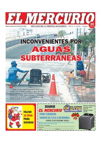 756836d03863 JUEVES 06 DE DICIEMBRE DE 2018 by Diario El mercurio - issuu