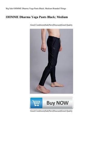 201f02c5ca Big Sale OHMME Dharma Yoga Pants Black; Medium Branded Things by ...