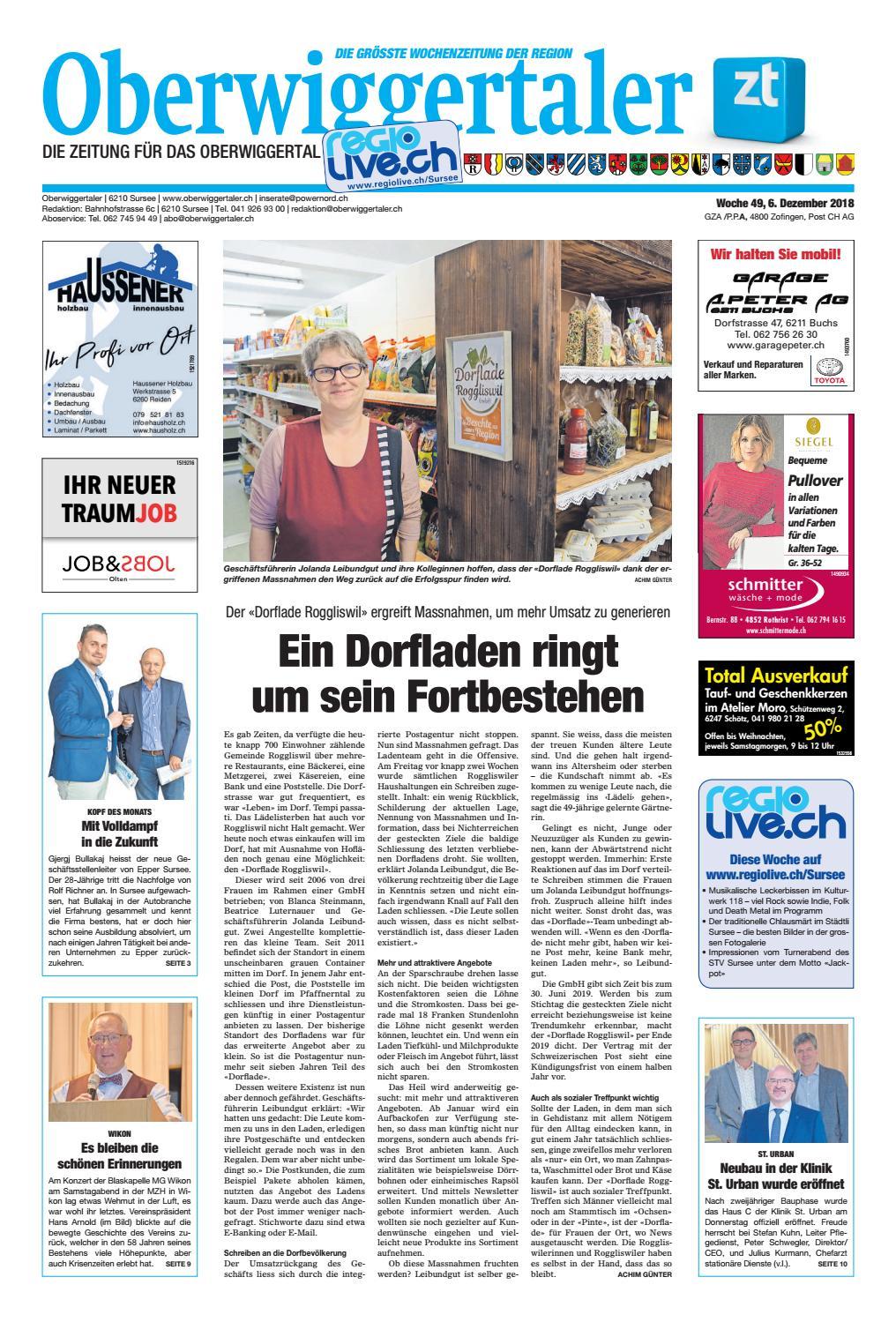Oberwiggertaler 49 18 by ZT Medien AG - issuu d4c80e8999