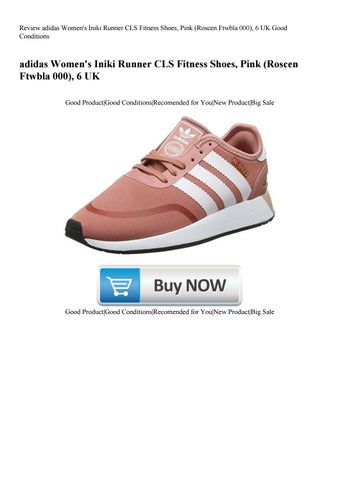 797571d6ed42 Review adidas Women s Iniki Runner CLS Fitness Shoes Pink (Roscen Ftwbla  000) 6 UK Good Conditions