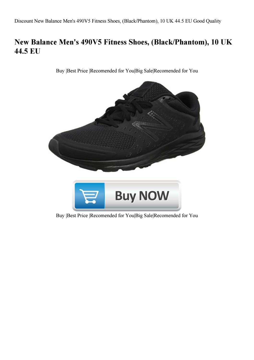 best loved 49bb2 df287 Discount New Balance Men's 490V5 Fitness Shoes (BlackPhantom ...