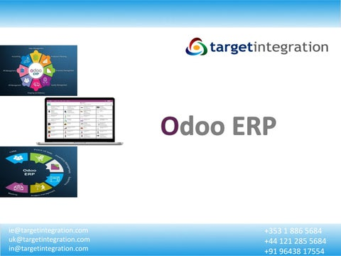 Page 1 of Odoo ERP - Target Integration (CRM & ERP Solution)