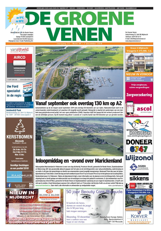 4aaa98d6e68 De Groene Venen 07-12-2018 by De Groene Venen - issuu