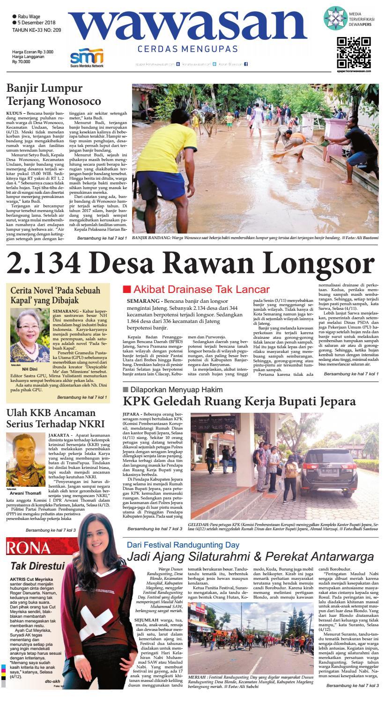 Wawasan 05 Desember 2018 By Koran Pagi Wawasan Issuu