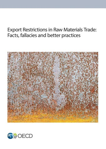 Export Restrictions in Raw Materials Trade: Facts, fallacies