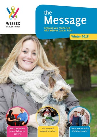 Page 1 of The Message - Winter 2018