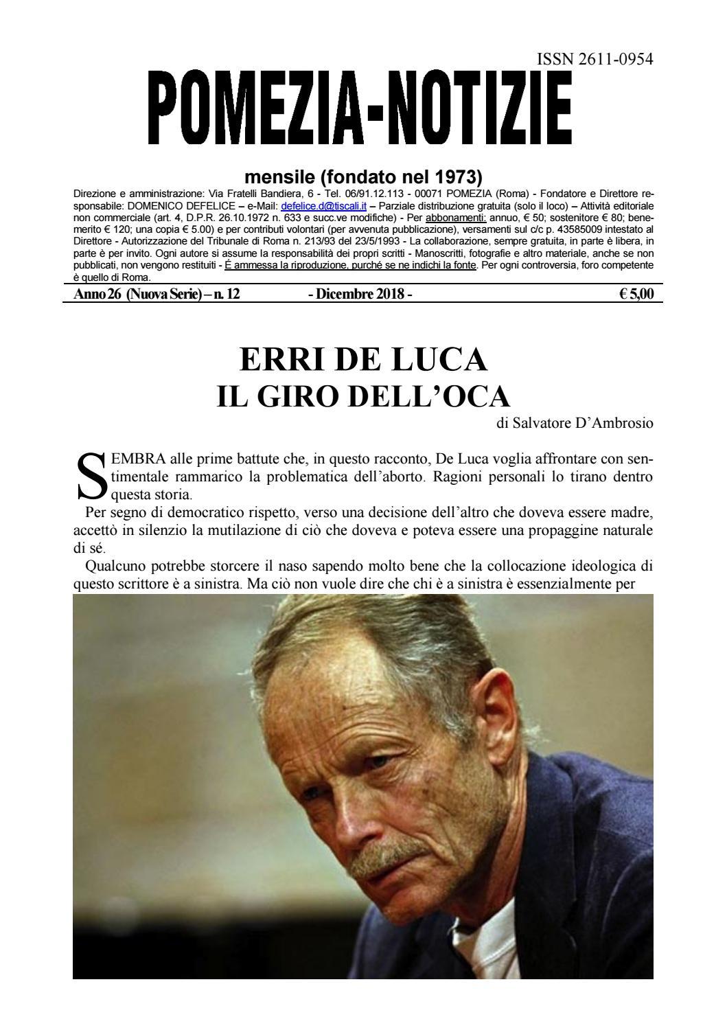 best website e23fb e204e Pomezia Notizie 2018 12 by Domenico - issuu