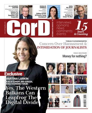 CorD Magazine, December 2018 issue, no  170 by CorD Magazine - issuu