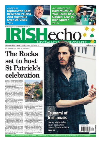Irish Echo Dec 2018 by Irish Echo - issuu