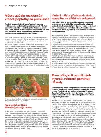 Page 18 of Magistrát informuje: zprávy