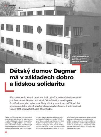 Page 28 of Historie: Dětský domov Dagmar má v základech dobro a lidskou solidaritu