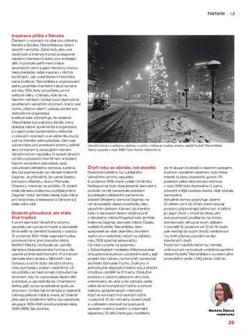 Page 29 of Historie: Dětský domov Dagmar má v základech dobro a lidskou solidaritu