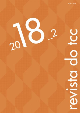 dd63e4f8b3 Revista do TCC 2018 2 by ARQLAB SENAC - issuu
