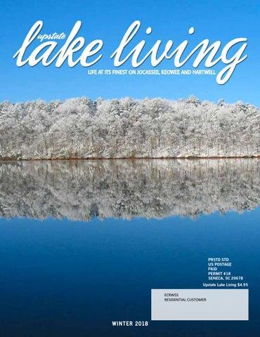 08af288e6960 PRSTD STD US POSTAGE PAID PERMIT #18 SENECA, SC 29678 Upstate Lake Living  $4.95