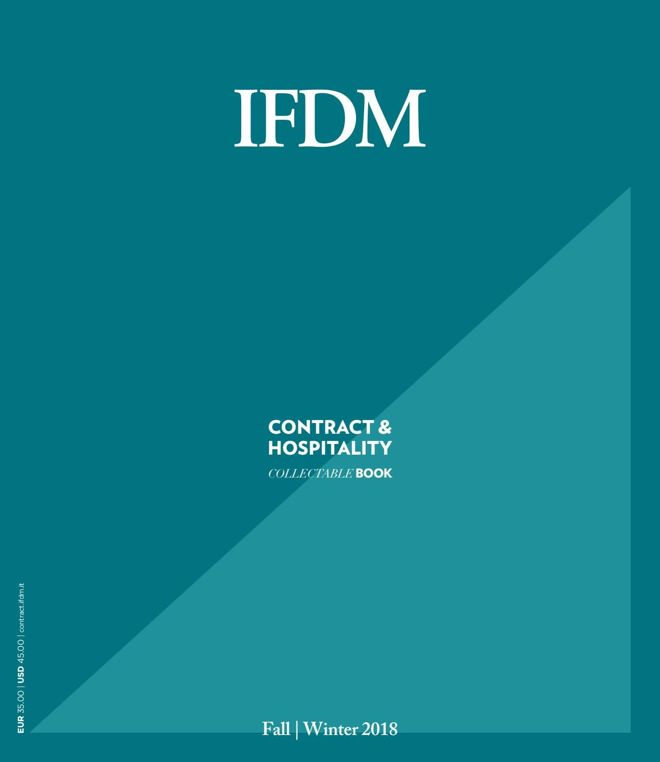 Ifdm Contract Hospitality Book International Fall Winter 2018 By Ifdm Issuu