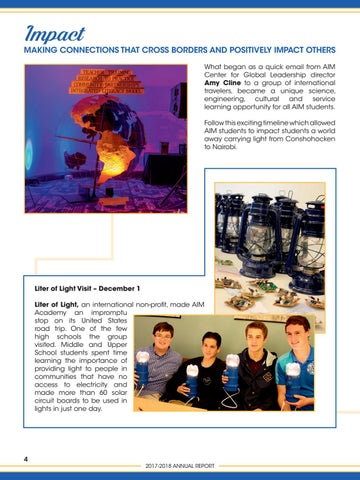 Page 6 of Impact through Lights - Making Global Connections