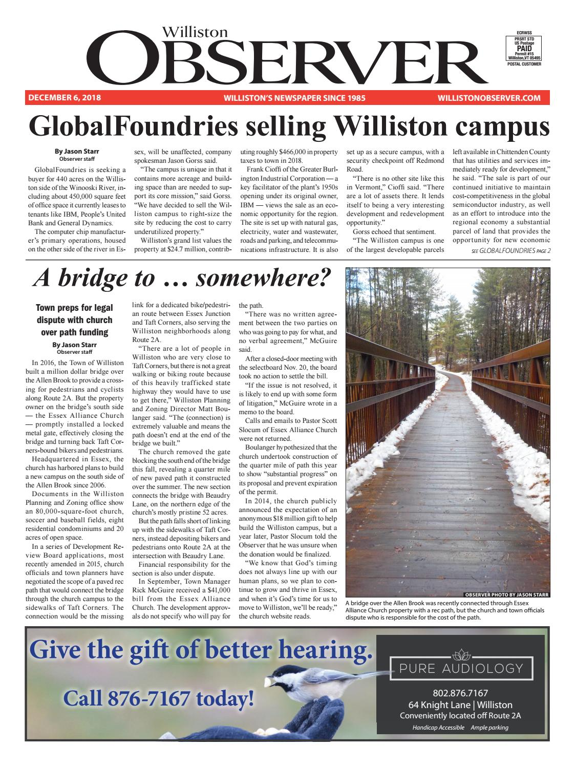 Williston Observer 12-6-18 by Williston Publishing - issuu