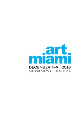 Art Miami 2018 by Art Miami - issuu