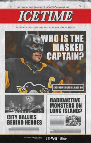 IceTime - Game 15 vs. New York Islanders 12.06.18. IceTime is the official  game program of the Pittsburgh Penguins. 1da76ff9a
