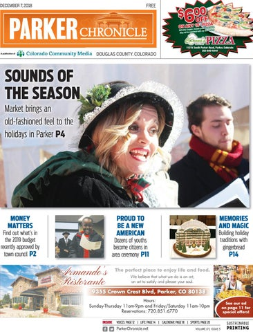 Parker Chronicle 1207 By Colorado Community Media Issuu