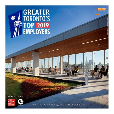 66b9a7f3b86530 Greater Toronto s Top Employers (2019) by Canada s Top 100 Employers ...