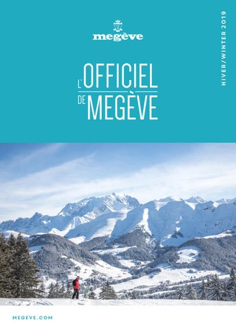963076eae898c L Officiel de Megève - HIVER 2018-19 by Megève (officiel) - issuu
